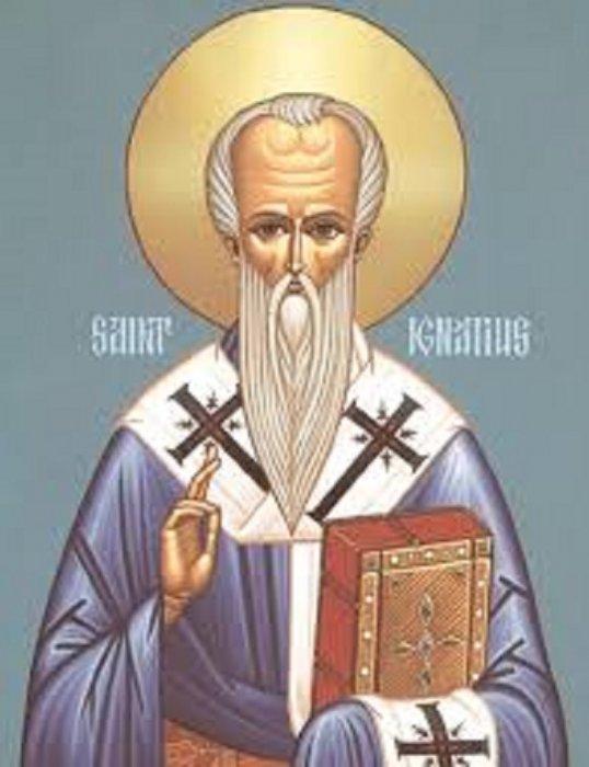 Svetac dana – Sveti Ignacije Antiohijski