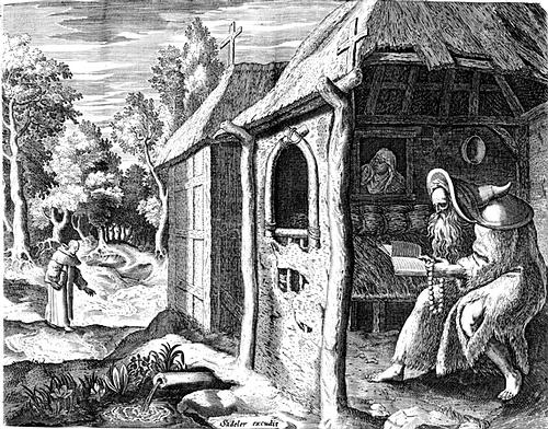 SVETAC DANA – Sveti Abraham Pustinjak