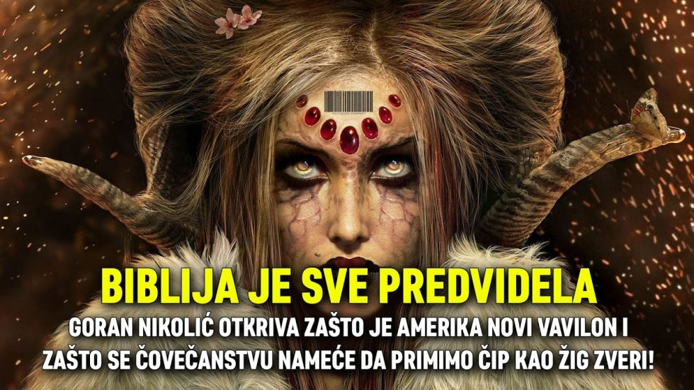BIBLIJA JE SVE PREDVIDELA: Amerika je novi Vavilon i zato nameću čovečanstvu da primimo žig zveri!