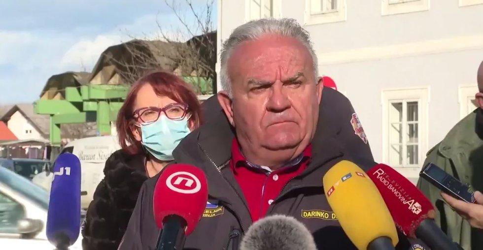 Video dana..../ trenutak potresa u Petrinji /