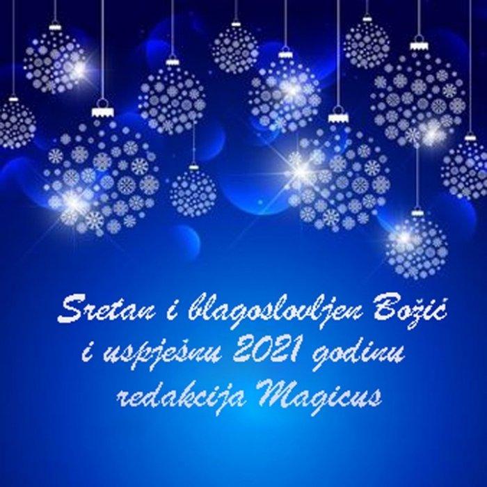 Sretan i blagoslovljen Božić magicusi!