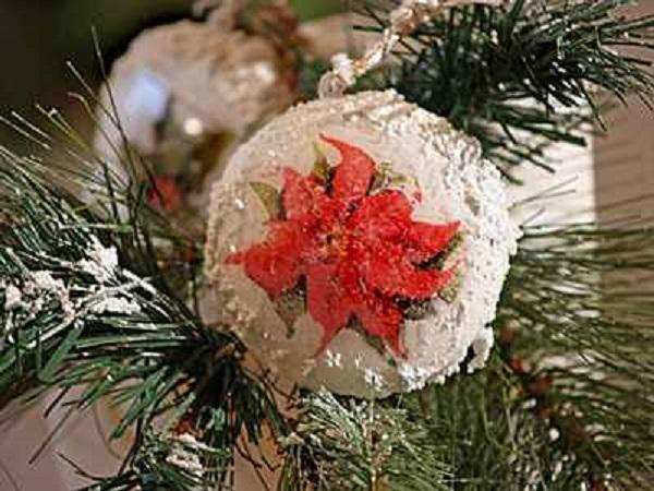 Božićni ukrasi - SNJEŽNE KUGLICE