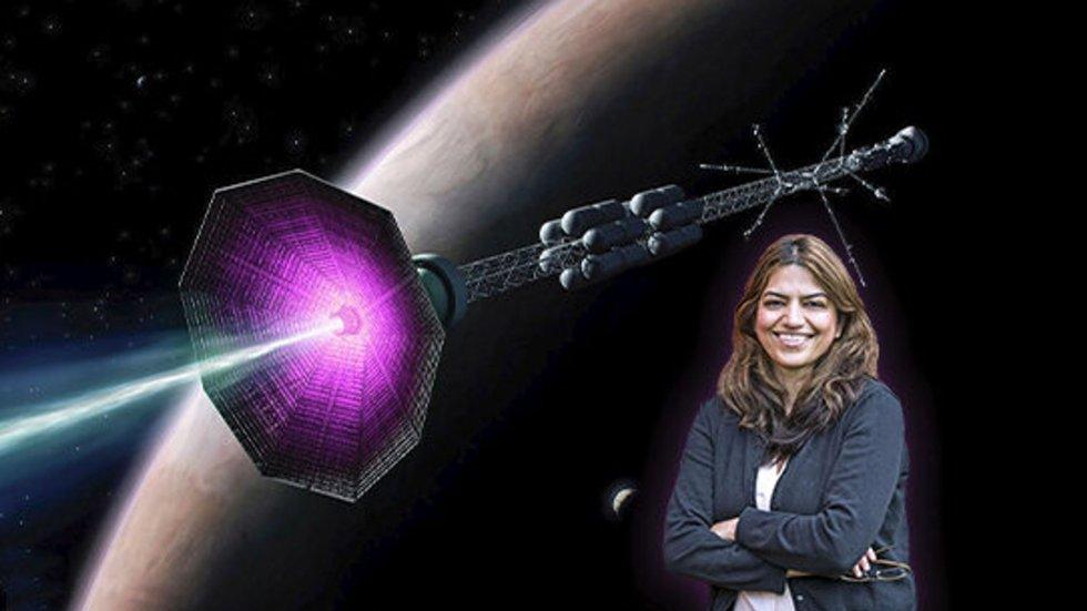 Je li ta žena upravo izmislila raketu koja će nas odvesti na Mars?