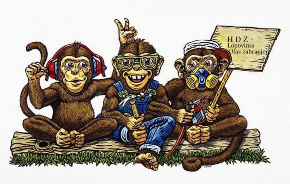 Tri majmuna..../ nije za one koji se ne vole smijati /....