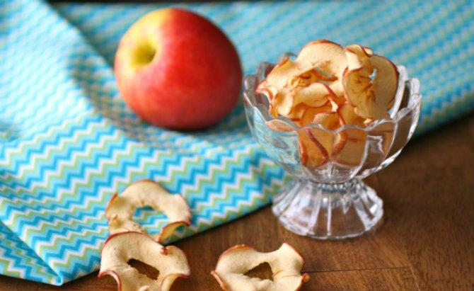 Kad cijela kuća zamiriši jabukama - čips od jabuka, na moj način