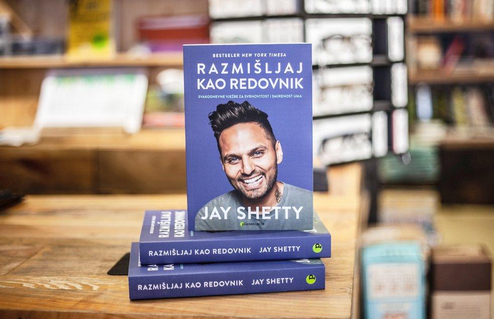 Bestseler Jaya Shettyja: RAZMIŠLJAJ KAO REDOVNIK