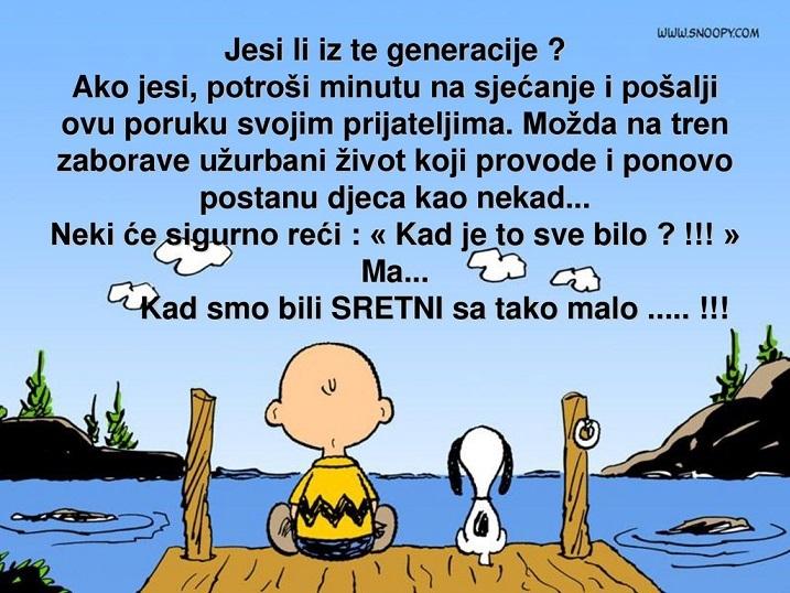 Jesi li iz te generacije ??????