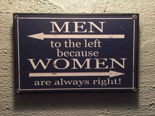 Jesu li žene uvijek u pravu? :)