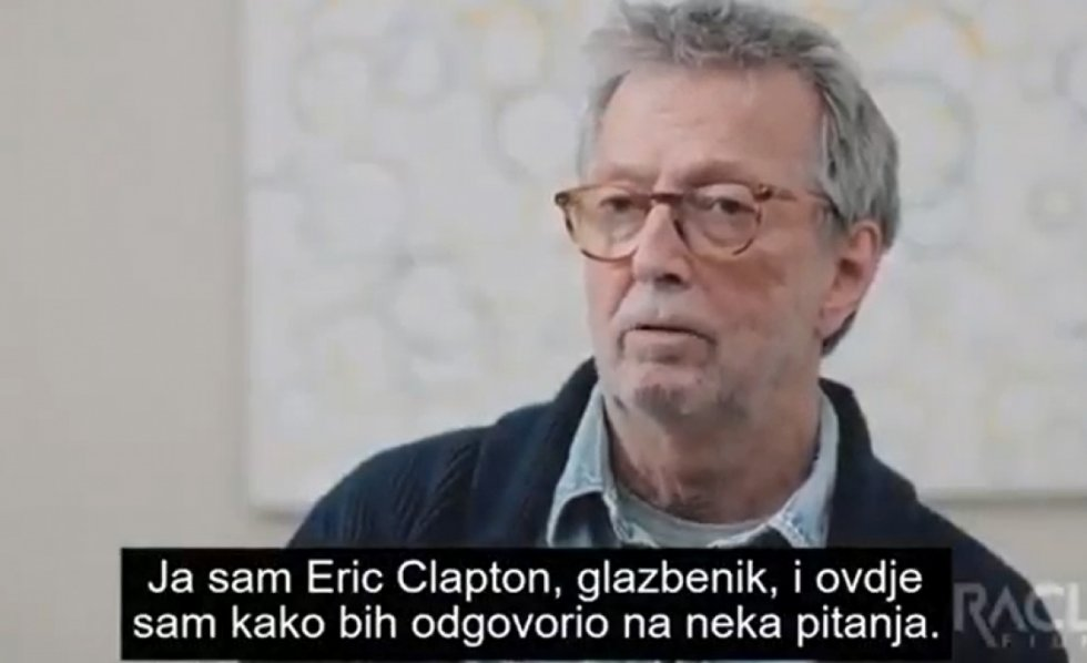 ERIC CLAPTON: ISPAO SAM GLUP I NAIVAN