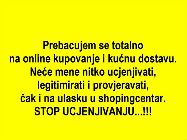 Stop ucjenjivanju...!!!