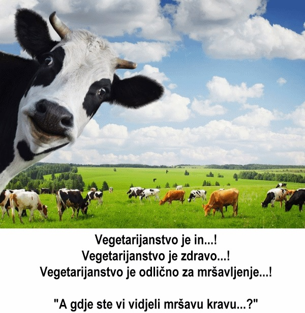 Vegetarijanstvo...