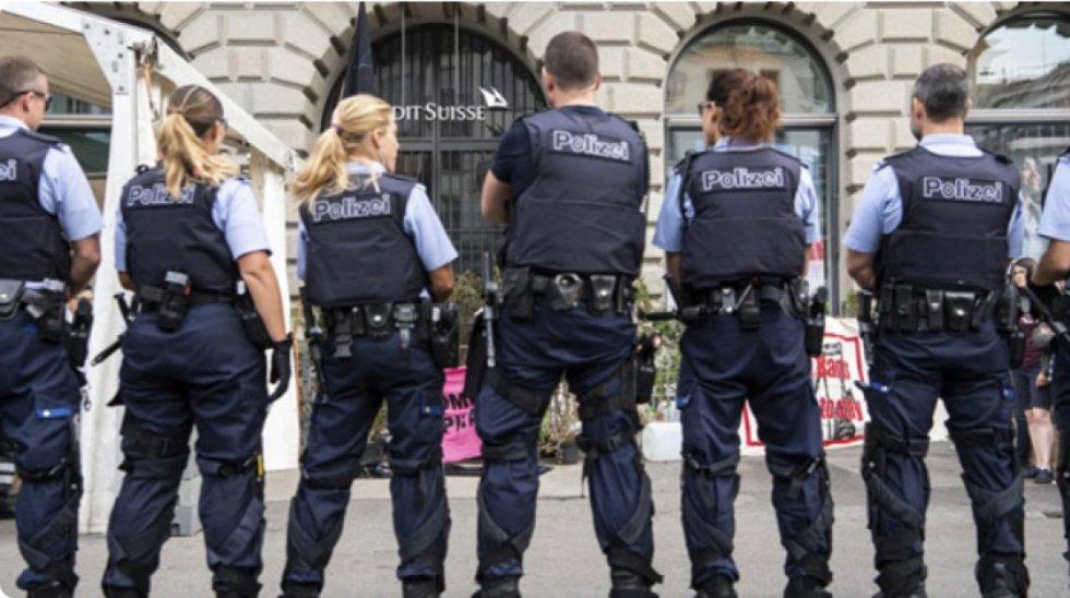 Švicarska policija: