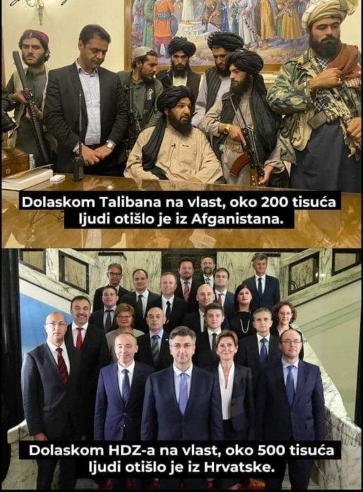 Razlike i sličnosti u politici....