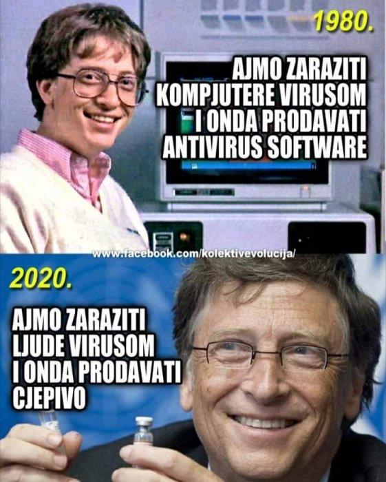 Virusna kronologija...