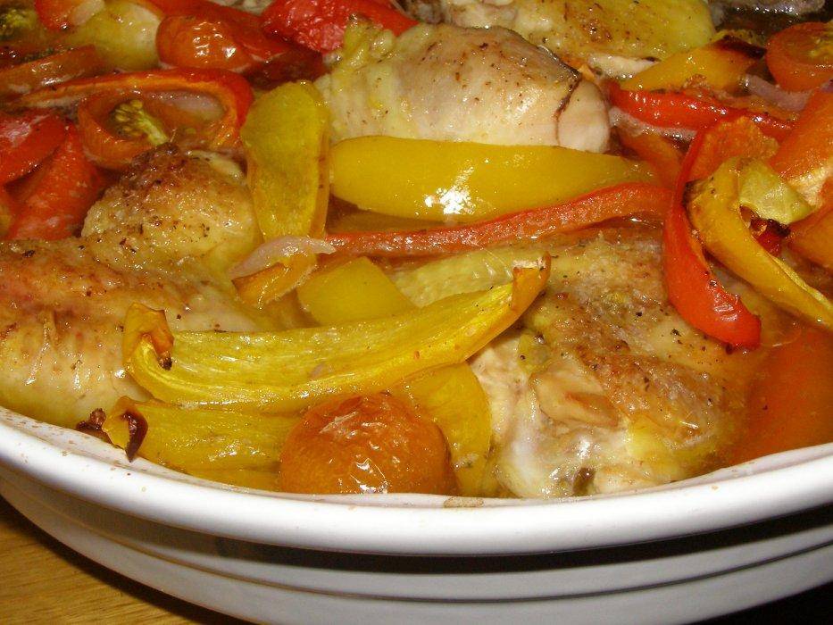 Prijedlozi za jesenji meni - Piletina s paprikama i mini rajčicama