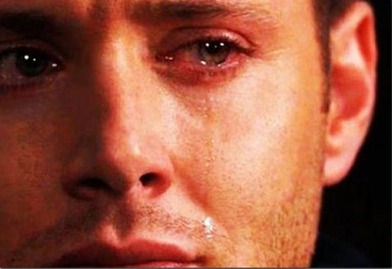 Kad muškarac pusti suzu koju...