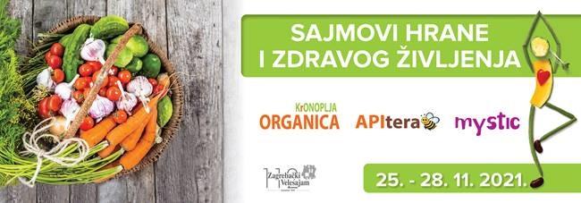Sajmovi hrane i zdravog življenja 25. - 28. 11. 2021.