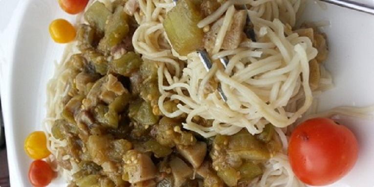 Prijedlozi za jesenji meni - Preljev za tjesteninu sa patliđanima i vrganjima