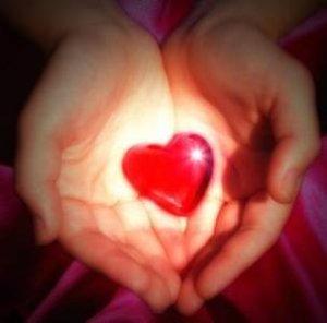 srce, ruke