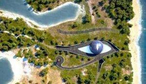 Naomi dobila kuću u obliku oka egipatskog boga Horusa