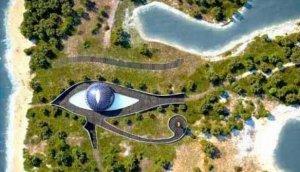 Naomi dobila kuću u obliku egipatskog simbola oka