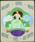 Deva Tarot - Božanski Tarot - Pehari: Kraljica pehara