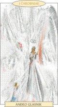 ANĐEOSKI TAROT: ČAROBNJAK - Anđeo glasnik