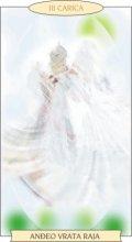 ANĐEOSKI TAROT: CARICA - Anđeo vrata raja