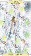 ANĐEOSKI TAROT:  6 ZRAK - Anđeo učenika