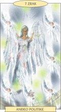 ANĐEOSKI TAROT:  7 ZRAK - Anđeo politike