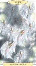 ANĐEOSKI TAROT: 8 ZRAK - Anđeo čekanja