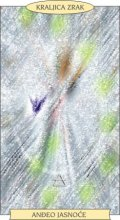 ANĐEOSKI TAROT:  KRALJICA ZRAK - Anđeo jasnoće
