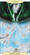 ANĐEOSKI TAROT:  3 ZEMLJA - Anđeo reda