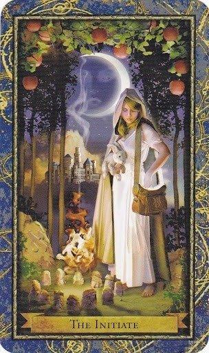 Čarobnjački tarot - LUDA (inicirani, inicijant, učenik)