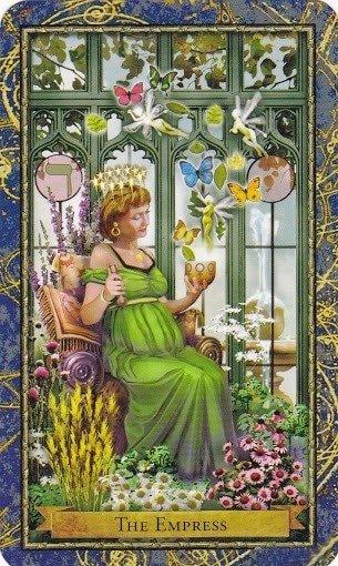 Čarobnjački tarot - Carica (Vladarica Biljne magije)