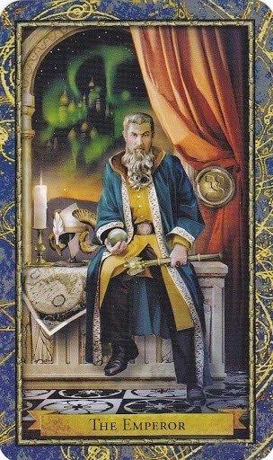 Čarobnjački tarot - Car  (Glavni učitelj magije)
