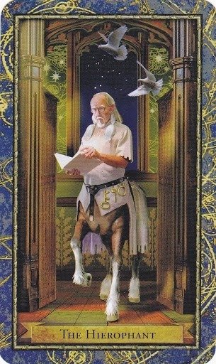 Čarobnjački tarot - Papa (Profesor mitologije)
