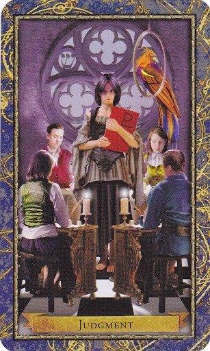 Čarobnjački tarot – Sud  (Učitelj, Ispitivač, Nadzor, završni ispit)
