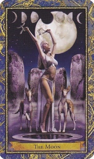 Čarobnjački tarot - Mjesec (Učitelj/ica Mjesečeve magije)