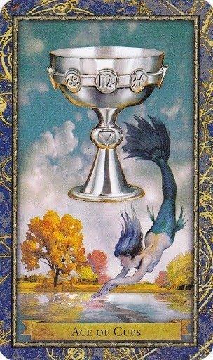 Čarobnjački tarot - As pehara (Snaga čuda)