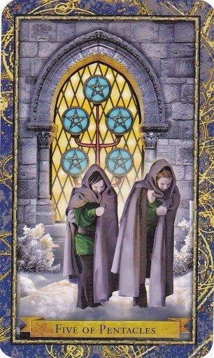 Čarobnjački tarot - 5 diskova (Snaga čuda)