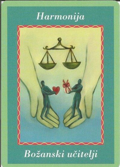 Karte duhovnih vodiča - Harmonija 9 (Božanski učitelji)