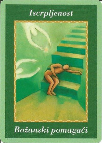 Karte duhovnih vodiča - Iscrpljenost 11 (Božanski pomagači)