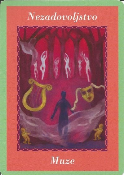 Karte duhovnih vodiča - Nezadovoljstvo 19  (Muze)