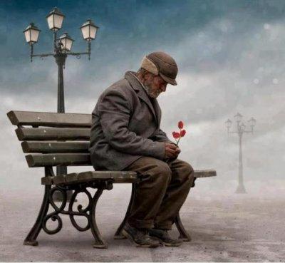 Adventske priče - Starac i čestitka....