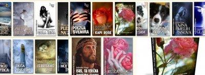 MOJE KNJIGE: 14 SAMOSTALNIH I 3 ZAJEDNIČKE ZBIRKE