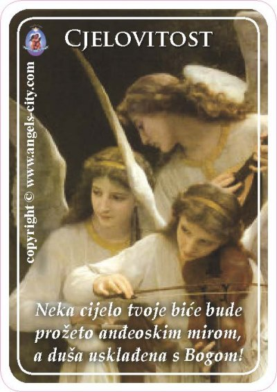 Anđeoski vodič: Anđeoske kartice - Cjelovitost