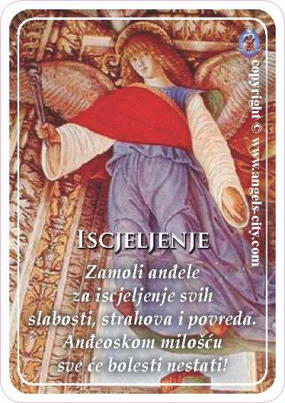 Anđeoski vodič: Anđeoske kartice - Iscjeljenje