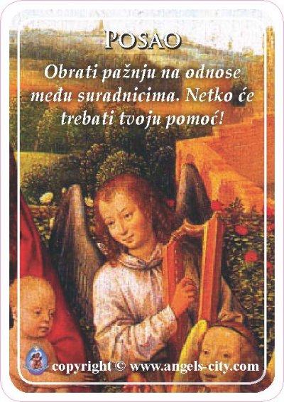 Anđeoski vodič: Anđeoske kartice - Posao