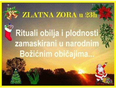 Zlatna zora večeras u 23h - Magijski rituali obilja u božićnim običajima + anđeoska prognoza za 2020.g